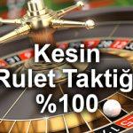 kesin rulet taktiği ve güvenilir rulet siteleri